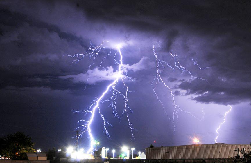 """Lightning Crashes"" by Mark Wilson"
