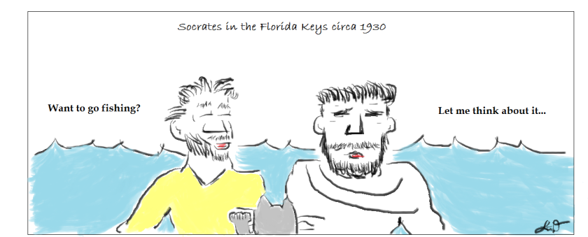 Socrates in the Florida Keys.1a
