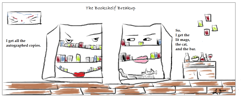 The Bookshelf Breakup (1)