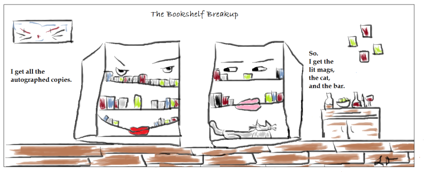 The Bookshelf Breakup (1)