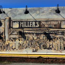 Winston-Salem Art District mural. Photo: Pat Berryhill
