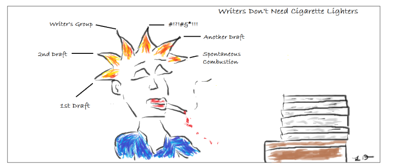 Writers Don't Need Cigarette Lighters