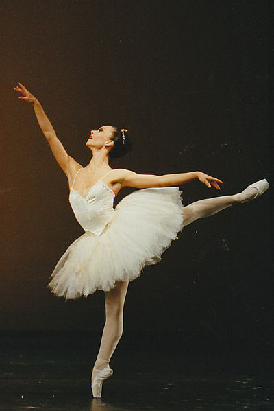 Natalie Böck in The Nutcracker, Ballett Augsburg 1988 via Wikimedia Commons