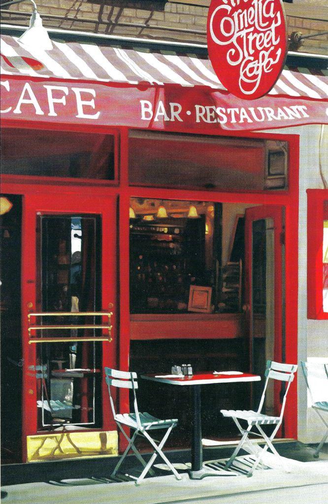 Cornelia Street Café | 29 Cornelia Street | New York, NY 10014 | 212/989.9319 | http://corneliastreetcafe.com | @corneliastcafe