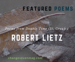 Poems from Double Time (3), Group 1 by Robert Lietz